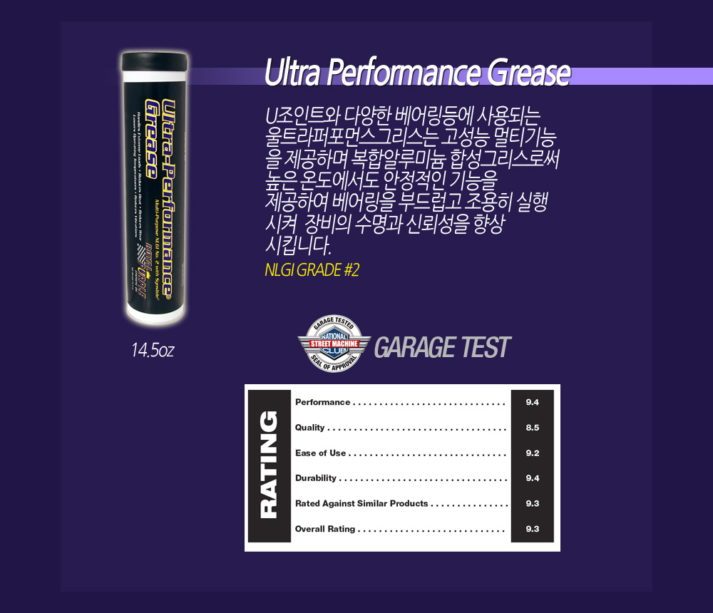 Royal Purple Ultra Performance Grease