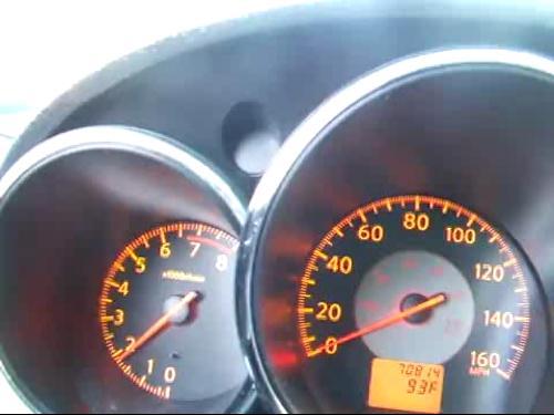 2005 닛산 알티마 3.5 80마일(제로백) 도달