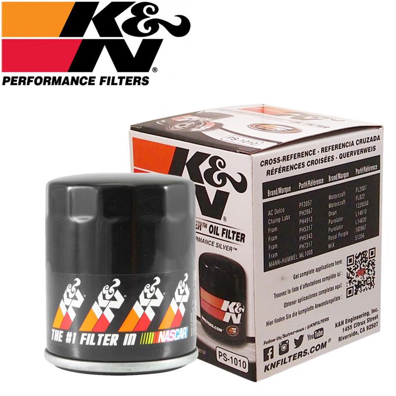 K&N PS-1010 오일필터 [르노삼성 SM3, SM5, 뉴SM5, 신형SM5(L43), SM6 2.0, SM7 가솔린(3000cc이하), 혼다 어코드, 어코드 하이브리, 시빅, CR-V, 오딧세이, 인피니티 FX45가솔린, FX50, M45, Q70s, QX56, QX70, QX80, 미쓰비시 이클립스, 랜서, 아웃랜더, 닛산 알티마, 스바루 포레스터, 레거시, 아웃백]