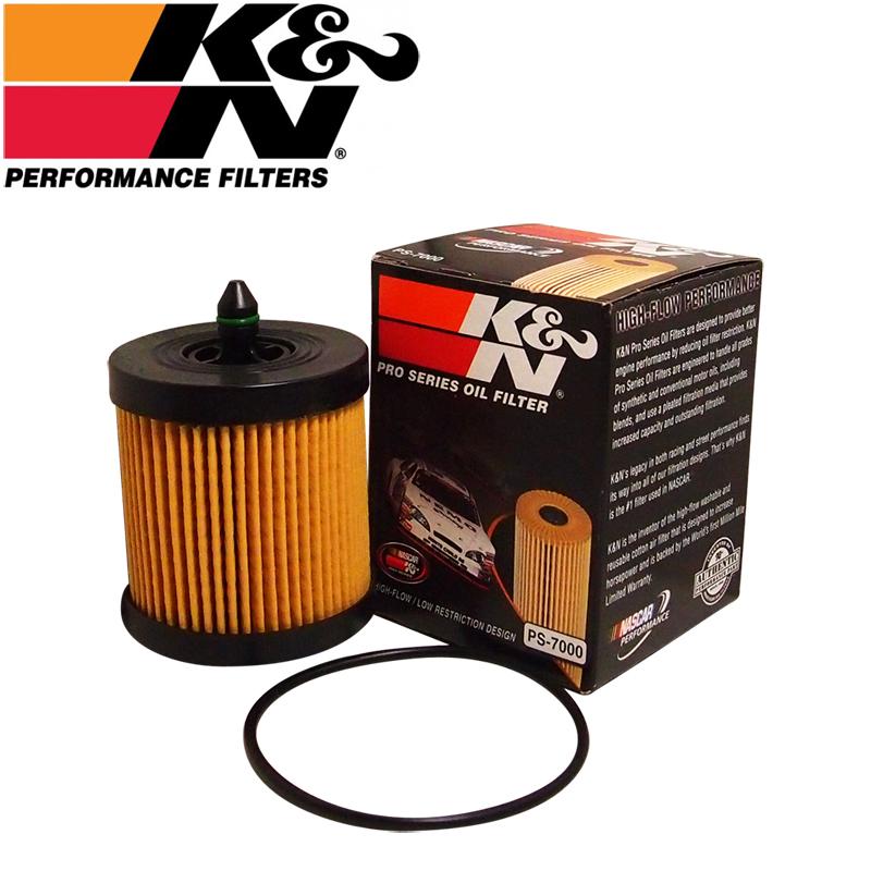K&N PS-7000 오일필터 [쉐보레  말리부 2.0/2,4, 올란도LPG, 알페온2.4]